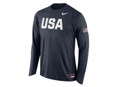 Nike NBA Men's Rio Elite Shooter Long Sleeve Warm-Up Shirt