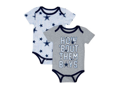 Dallas Cowboys NFL Newborn Musgrove Creeper Set