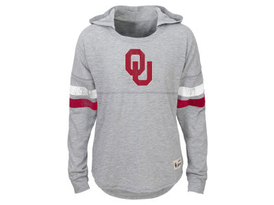 Oklahoma Sooners NCAA Youth Girls Slouchy Pullover Hoodie