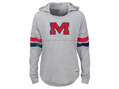 Ole Miss Rebels NCAA Youth Girls Slouchy Pullover Hoodie