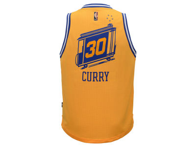 Golden State Warriors Stephen Curry adidas NBA Youth Swingman Hardwood Classic Jersey