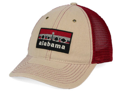 Alabama Crimson Tide Zephyr NCAA Landmark Mesh Hat