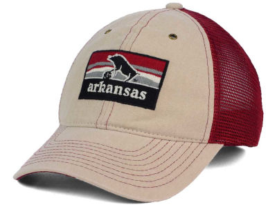 Arkansas Razorbacks Zephyr NCAA Landmark Mesh Hat