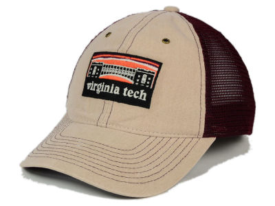 Virginia Tech Hokies Zephyr NCAA Landmark Mesh Hat