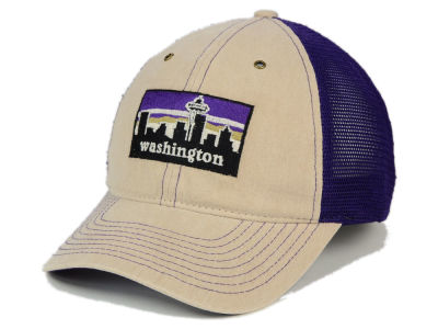 Washington Huskies Zephyr NCAA Landmark Mesh Hat