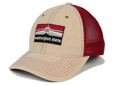 Washington State Cougars Zephyr NCAA Landmark Mesh Hat