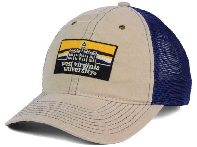 West Virginia Mountaineers Zephyr NCAA Landmark Mesh Hat