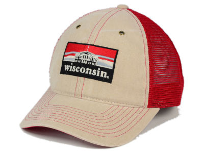 Wisconsin Badgers Zephyr NCAA Landmark Mesh Hat
