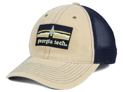 Georgia-Tech Zephyr NCAA Landmark Mesh Hat