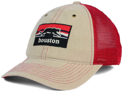 Houston Cougars Zephyr NCAA Landmark Mesh Hat