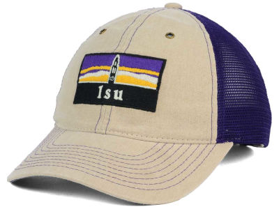 LSU Tigers Zephyr NCAA Landmark Mesh Hat