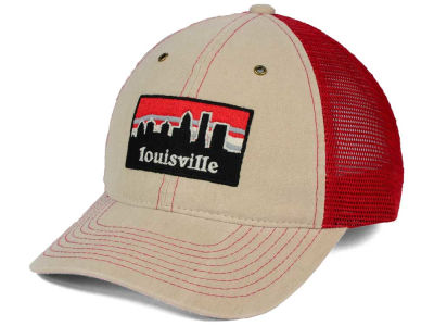 Louisville Cardinals Zephyr NCAA Landmark Mesh Hat