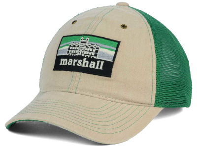 Marshall Thundering Herd Zephyr NCAA Landmark Mesh Hat