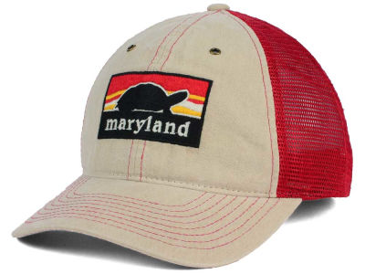Maryland Terrapins Zephyr NCAA Landmark Mesh Hat