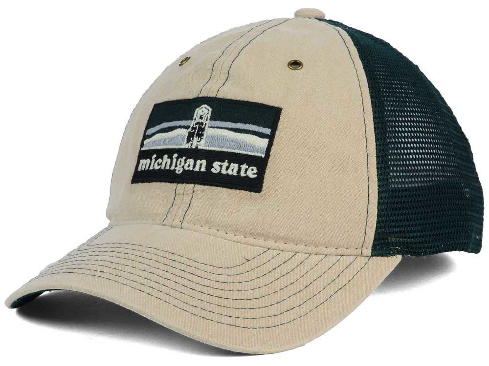 Michigan State Spartans Zephyr NCAA Landmark Mesh Hat  cd1e04dad62