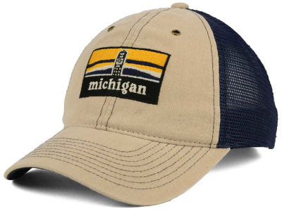 Michigan Wolverines Zephyr NCAA Landmark Mesh Hat