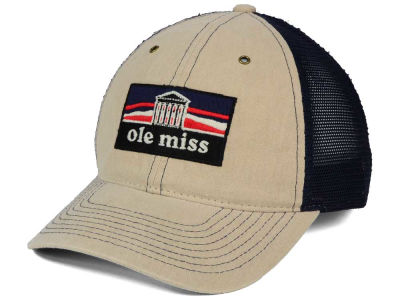 Ole Miss Rebels Zephyr NCAA Landmark Mesh Hat