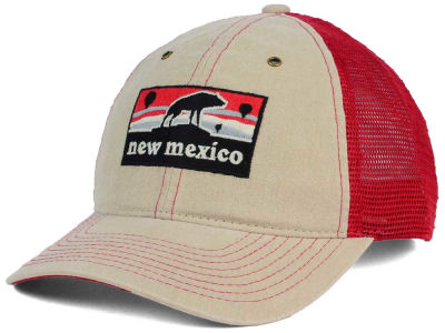 New Mexico Lobos Zephyr NCAA Landmark Mesh Hat