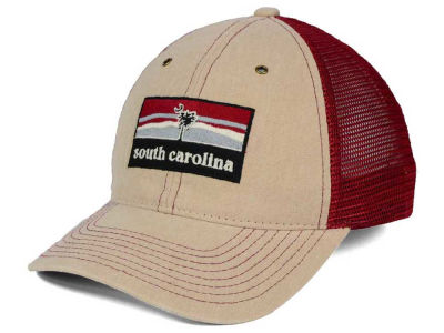 South Carolina Gamecocks Zephyr NCAA Landmark Mesh Hat