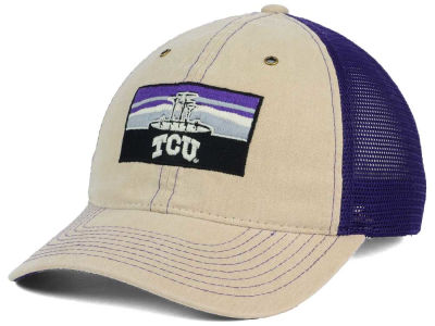 Texas Christian Horned Frogs Zephyr NCAA Landmark Mesh Hat
