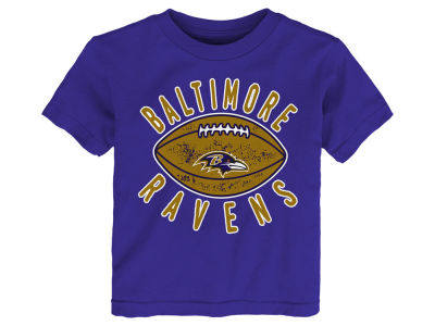 Baltimore Ravens Outerstuff NFL Toddler Place Kicker T-Shirt