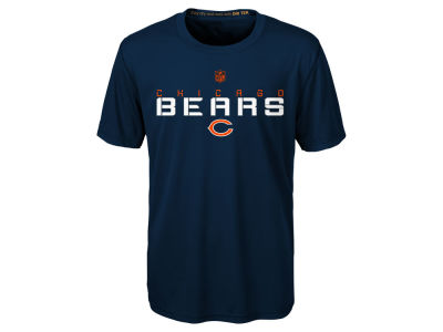 Chicago Bears Outerstuff NFL Kids Maximal Dri-Tek T-Shirt