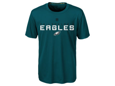 Philadelphia Eagles Outerstuff NFL Kids Maximal Dri-Tek T-Shirt