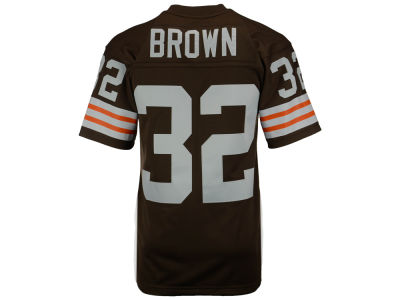 Cleveland Browns Jim Brown Mitchell and Ness NFL Replica Throwback Jersey