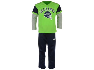 Seattle Seahawks Outerstuff NFL Kids Charger Pant Set