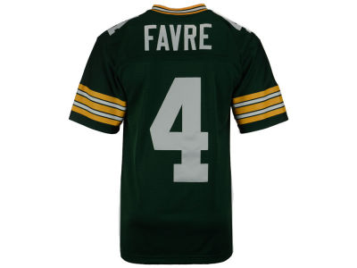 Green Bay Packers Brett Favre Mitchell and Ness NFL Replica Throwback Jersey