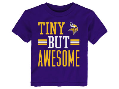 Minnesota Vikings Outerstuff NFL Toddler Tiny But Awesome T-Shirt