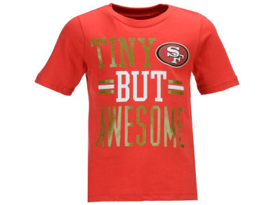 San Francisco 49ers Outerstuff NFL Toddler Tiny But Awesome T-Shirt