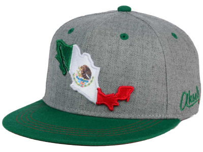 Mexico Country Snapback Hat