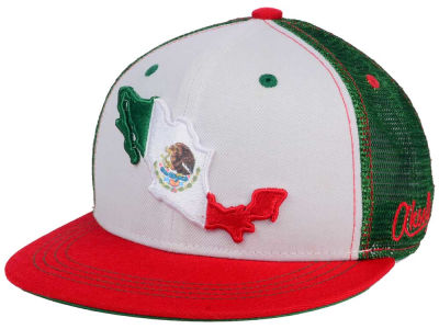 Mexico Country Mesh Snapback Hat