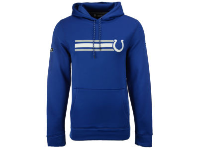 Indianapolis Colts Under Armour NFL Men's Stripe Pocket AF Hoodie