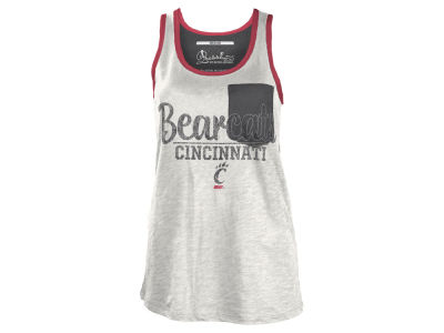 Cincinnati Bearcats NCAA Women's Campbell Pocket Slub Tank
