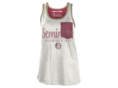 Florida State Seminoles NCAA Women's Campbell Pocket Slub Tank