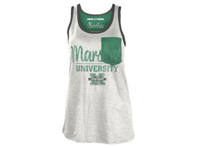 Marshall Thundering Herd NCAA Women's Campbell Pocket Slub Tank