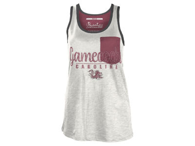 South Carolina Gamecocks NCAA Women's Campbell Pocket Slub Tank