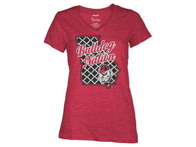 Georgia Bulldogs NCAA Women's State T-Shirt
