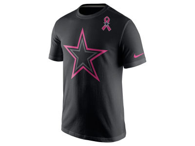 Dallas Cowboys Nike NFL Breast Cancer Awareness Travel T-Shirt