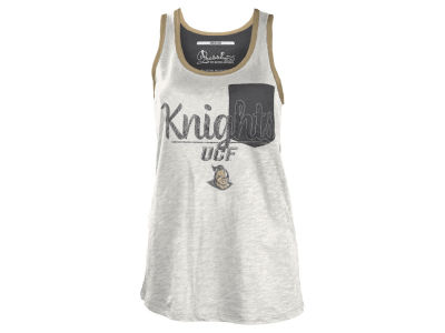 University of Central Florida Knights NCAA Women's Campbell Pocket Slub Tank