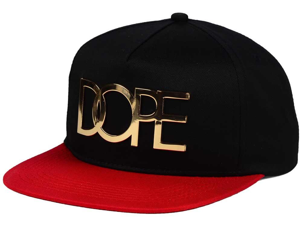 online store 183fb c83d6 Dope 24K Gold 2 Tone Snapback Hat   lids.com
