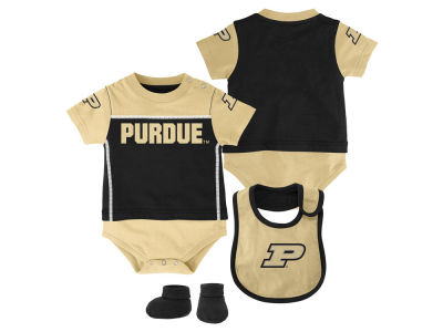 Purdue Boilermakers NCAA Infant Lil Jersey Creeper Set