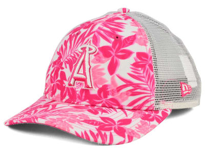 Los Angeles Angels New Era MLB Youth Flower Power 9FORTY Cap
