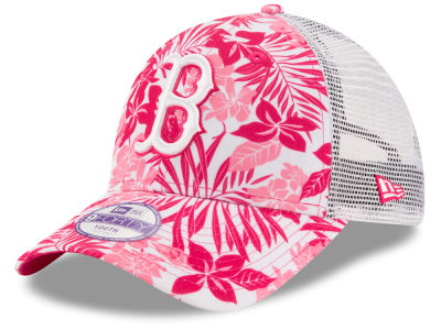 Boston Red Sox New Era MLB Youth Flower Power 9FORTY Cap