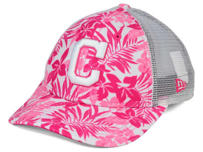 Cleveland Indians New Era MLB Youth Flower Power 9FORTY Cap