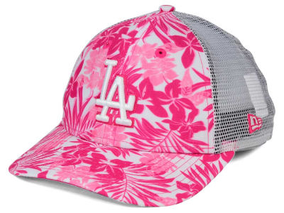 Los Angeles Dodgers New Era MLB Youth Flower Power 9FORTY Cap