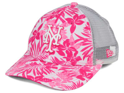New York Mets New Era MLB Youth Flower Power 9FORTY Cap