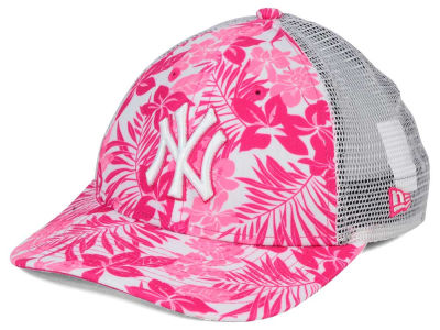 New York Yankees New Era MLB Youth Flower Power 9FORTY Cap